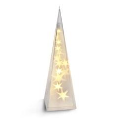 Solight LED vánoční pyramida, 3D efekt světla, 45cm, 3 x AA, teplá bílá (Solight LED vánoční pyramida, 3D efekt světla, 45cm,)