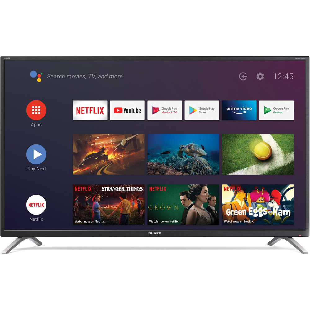 43BL2EA ANDROID UHD 600Hz TV SHARP