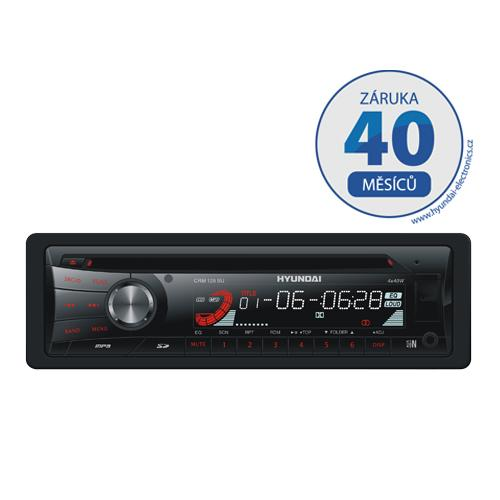 Autorádio Hyundai CRM 129 SU, CD/ MP3/ USB/ SD/ MMC/ AUX-IN