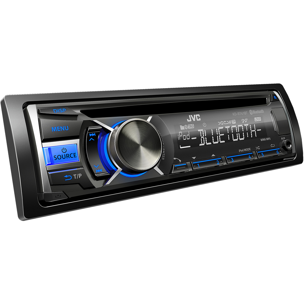 KD R741BT AUTORÁDIO S CD/MP3/BT JVC