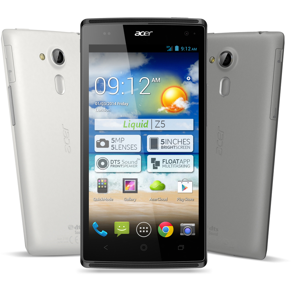 Liquid Z5 Dual SIM Dual Core 5 GREY ACER