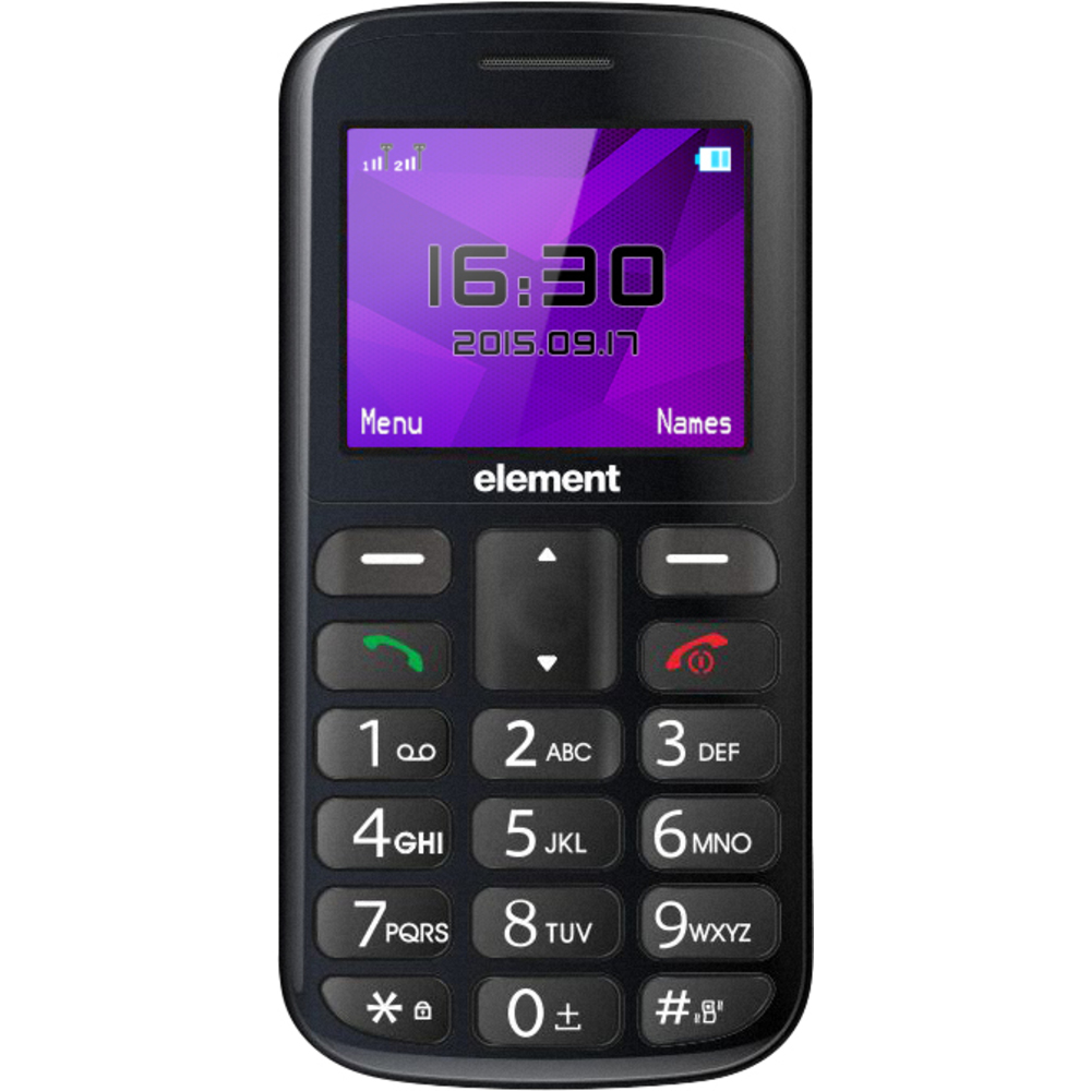 Element P003S Grey Telefon SENCOR