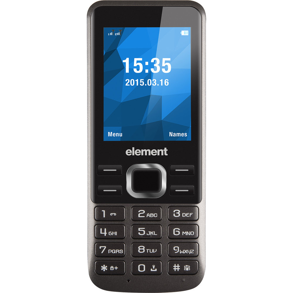 ELEMENT P021 GREY TELEFON SENCOR
