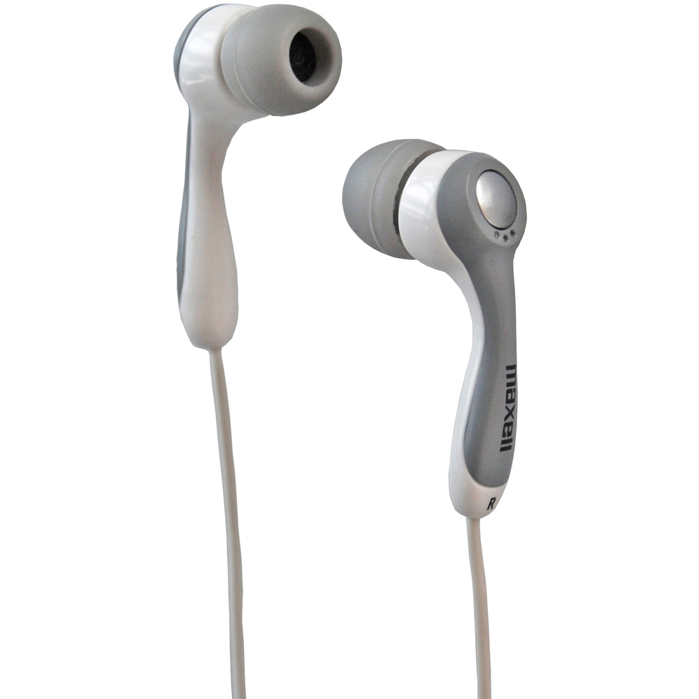 303402 RHYTHMZ WHITE EARPHONE MAXELL