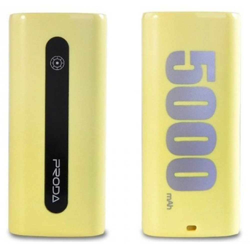Power Bank Proda E5 5000mAh Žlutá REMAX