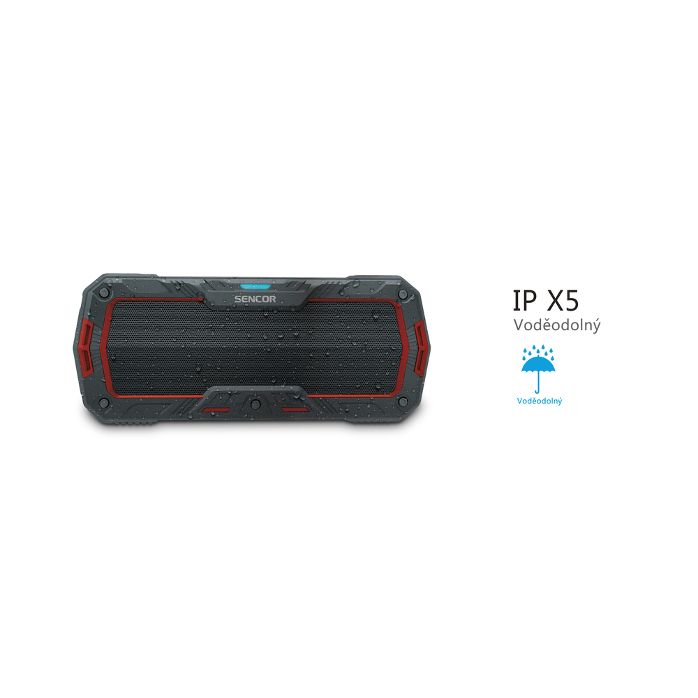 SSS 1100 RED BT SPEAKER SENCOR